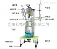 GR-10郑州长城科工贸双层玻璃反应釜