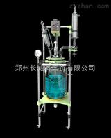 GR-50厂家热销高硼硅材质50L双层玻璃反应釜