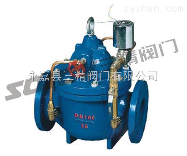 水力控制阀图片系列:600X电控水力控制阀三精阀门
