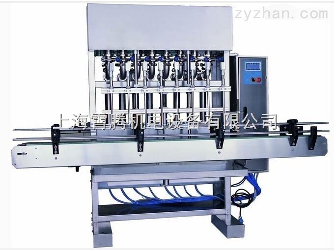 新型优质高精度液体灌装机