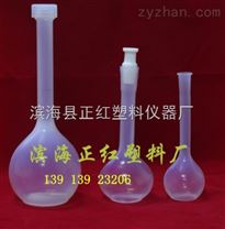 FEP容量瓶100ml耐酸碱定容正红价格