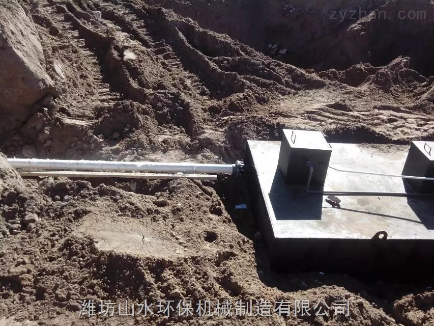 陕西神木收费站一体化生活污水处理设备简介