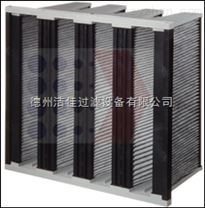 H10大风量亚高效过滤器,活性炭W型大风量亚高效过滤器