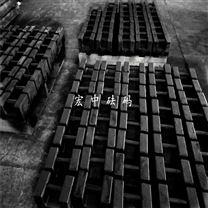 云南曲靖25kg铸铁砝码 桥梁测试用砝码_可定制
