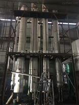预定二手三效5吨强制循环降膜蒸发器316L