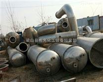 专业供货二手15吨每小时三效降膜强制外循环蒸发器