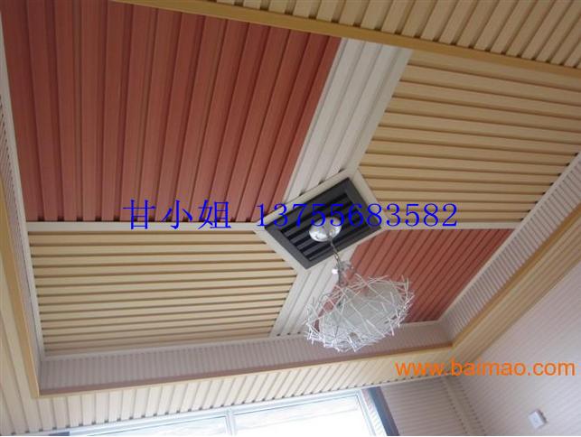 建阳家装环保装饰,吊顶生态木,墙体装饰大小长城板