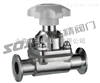 G49W隔膜阀图片系列:G49J-10不锈钢卫生级隔膜阀